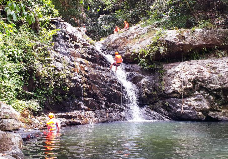 Canyoning from Hoi An in Vietnam