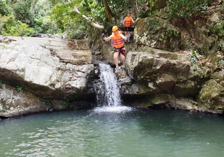 Thac G'Rang Falls Canyoning from Hoi An